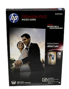 Photopaperi 10x15 300g HP Premium Plus - Valokuvapaperit - 126155 - 1